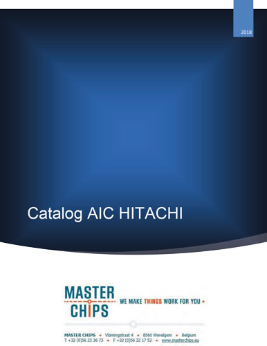 Frontpage Hitachi-AIC catalogue